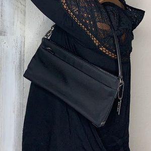 Coach small nylon shoulder bag